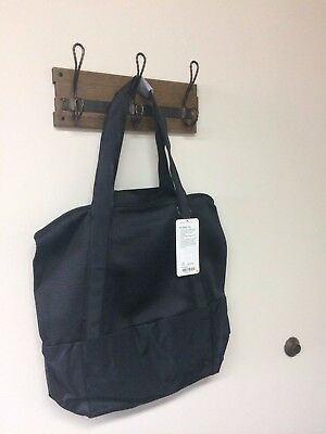 NWT Lululemon Black Hot Mesh Tote 30L Carry-All Workout Yoga Bag MSRP $118