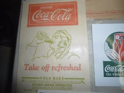 Vintage Coke-a Cola 22 pc.advertising lot 1920's - 1930's & up
