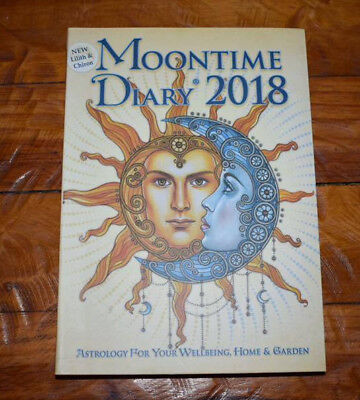 New Moontime Diary For 2018  Astrology By Iris Detenhoff