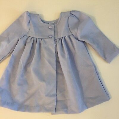 Vtg Jacket Coat Purple Lavender Button Church Dress 18 Girl Toddler Baby