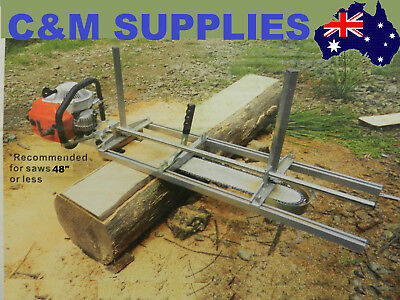 "Chainsaw Mill For saws up to 48"" Bar Brand New for Slabbing and Planks"