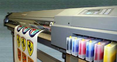 """Roland CJ-500 Eco Solvent Printer/Cutter - 54"""" Wide - Lots of Extras - Excellent"""