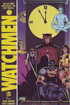 Watchmen Hardcover re-coloured Alan Moore Dave Gibbons DC Comics