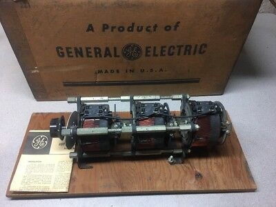 NEW GE Volt-Pac 9T92A6 3-Stage Variable Transformer In: 240V 3PH Out: 0-240/280V