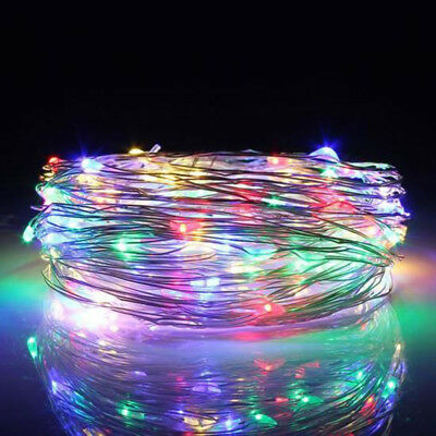 13M 120 LED Fairy String Rope Light Solar Power Waterproof Xmas Decoration JY68
