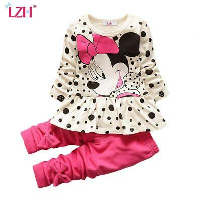 Girls Minnie Mouse Clothing Set