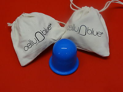 lot de 2 Ventouses anti cellulite cellu n blue