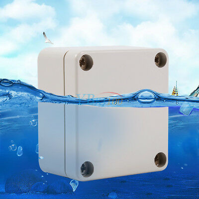 Waterproof IP65 ABS Junction Box Enclosure Case Outdoor Terminal Box Many Size E