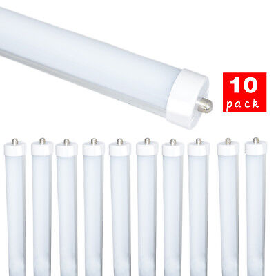 4/10/Pack LED Tube T8 F96 8FT 40W FA8 Single Pin R17D Light Fluorescent Replace