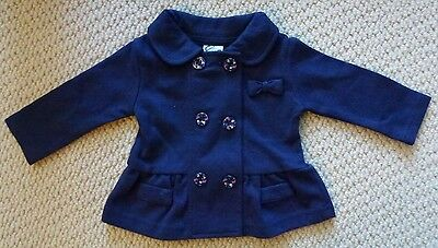 NWT Target Girls Peplum Jacket with Butterfly Flower Buttons & Bows Size 000