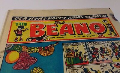 The Beano 1954 December 25th no.694 - Christmas / Xmas edition!
