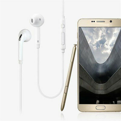 In-Ear Headphone w/Mic Earphone For Samsung Galaxy S5 S4 i9800 S6 Edge New