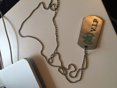 Ministry Of Sound VIP Club Dog Tags - Free Entry for LIFE DJ Tickets clubbing