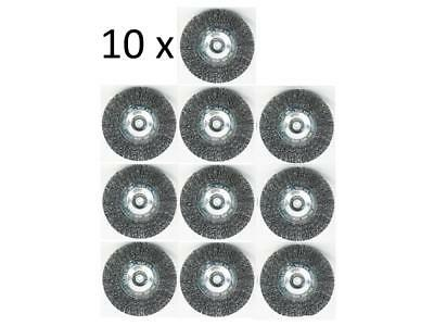 10er Set Broom Brush for Battery Grizzly AFB 18 Lion Metal Wire