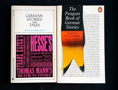 Lot Of 2 German Fiction Books - Penguin Book Of German Stories And Tales (PB)