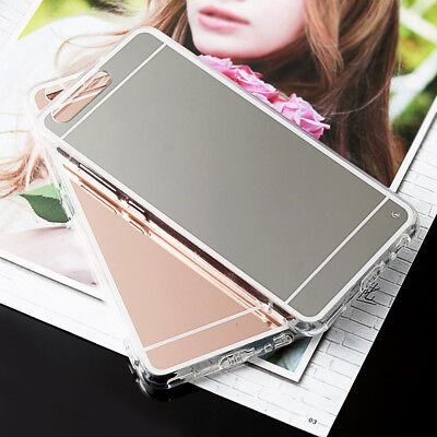 Luxury elegant Silicone TPU Mirror Case Case Cover For Huawei Ascend P9 P10 Lite