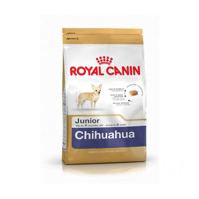 Croquettes pour chiot Chihuahua Royal Canin Breed Junior Sac 1,5 kg (DLUO 6 mois