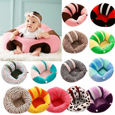 Baby Support Seat Sit Up Soft Chair Cushion Sofa Plush Pillow Toy Bean Bag