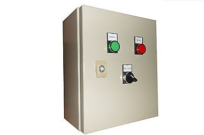 Single phase/three phase DOL pump control panel 1.5kW