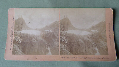 Stereoview_Mt. Cazbek in her Glory_Caucasus Montains 1897_Russia