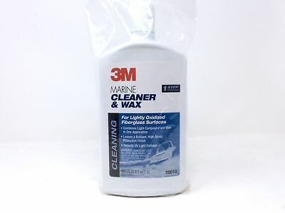 (Closeout) 3M 09010 Marine Restorer and Wax (33.8-Ounce)