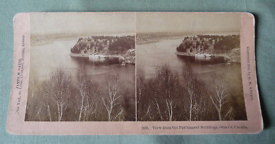 Stereoview_View from Parliament Buildings, Ottawa, Canada 1894_Kilburn
