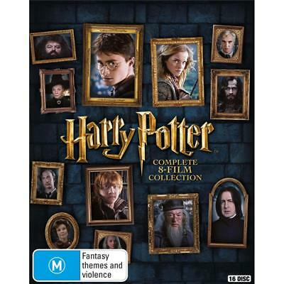 Harry potter blu ray collection aud picclick au for Sejour complet harry potter