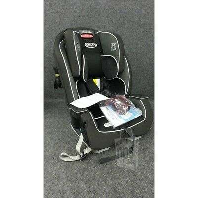Graco 1946246 Milestone 3 In 1 Car Seat Booster Rear and Forward Facing, Black*