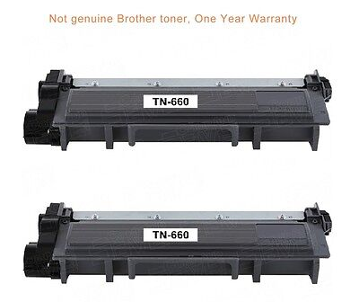 2black ink toner cartridge for Brother TN66O DCPL2520DW All In One laser printer
