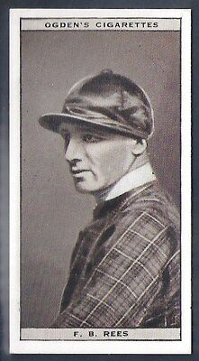 Ogdens-Steeplechase Celebrities-#35- Top Quality Horse Racing Card!!!