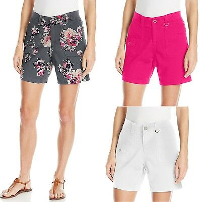 LEE Womens Relaxed Fit Kaylin Knit Waist Short size 6 10 12 14 16 18 NEW