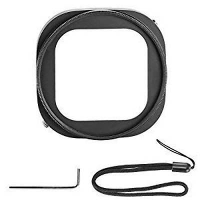 Neewer Aluminum Alloy 52mm Lens Filter Adapter Ring for GoPro HERO 4 Session wit