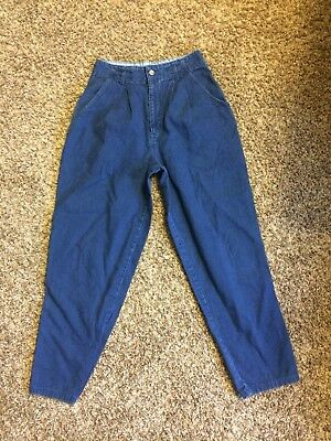Super High Waisted Mom Jeans 6 8 28 29 Vintage 80s 90s