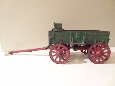 Arcade Cast Iron McCormick Deering Toy Wagon