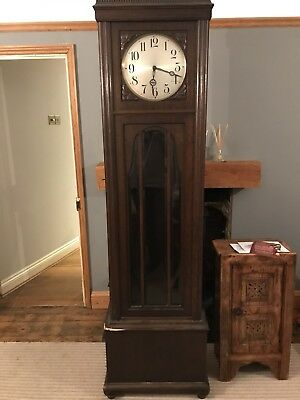 Antique 1920's Grandfather Clock