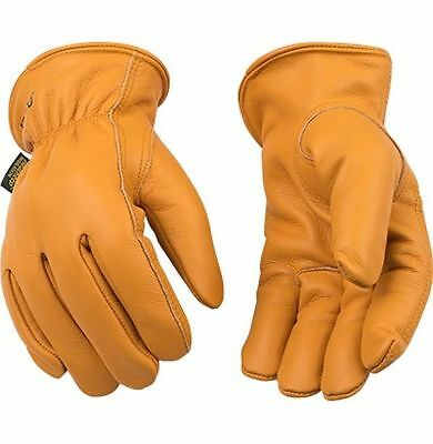 Kinco 81HK Mens Buffalo Leather Cold Weather Thermal Work Gloves Ranch Farm