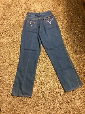 Super High Waisted Vintage 70s Jeans 6 28 or 28x30