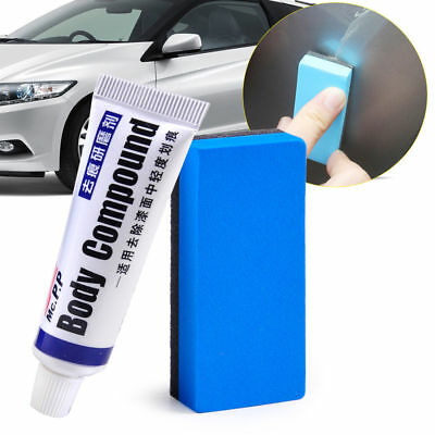Universal Car Polishing Body Compound Wax Paint Care Scratching Paste Repair Kit
