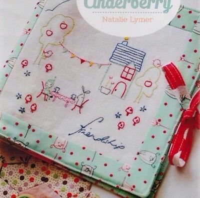 PATTERN - Room for Friends - cute stitchery sewing compendium PATTERN