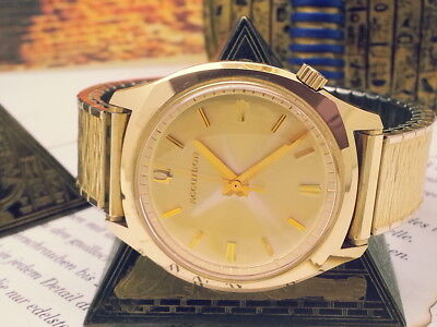 Vintage Stunning 1972 (Mint!) Accutron Tuning-Fork A-Symmetrical 2180 Mens Watch