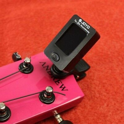 Clip On Chromatic Tuner Guitar Bass Banjo Ukulele Violin OUD Tuner JT-01 JOYO EW