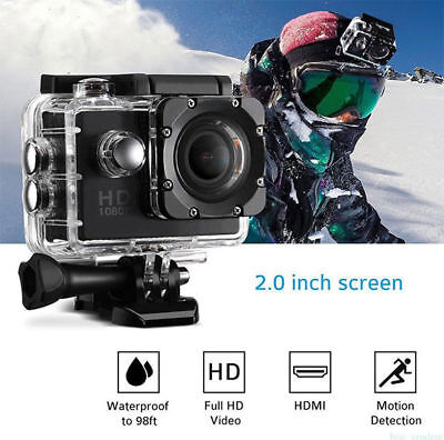 12MP Waterproof Sport Camera Action SJ4000 1080P Mini DV Video Helmet DVR 2019
