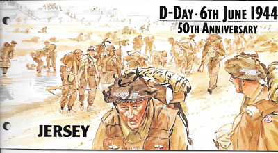 JERSEY 1994 D - Day Anniversary set Presentation Pack