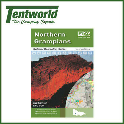 Spacial Vision Northern Grampians Maps - Edition 2