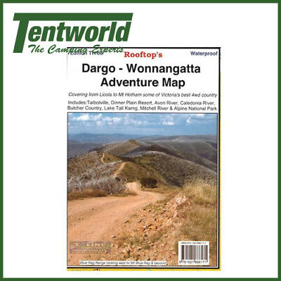 Rooftop Dargo - Wonnangatta Map - Edition 3