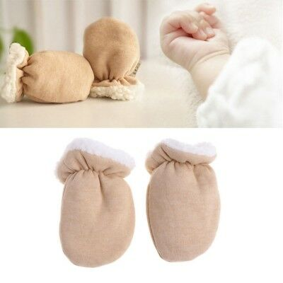 Newborn Baby Mittens Winter Kids Gloves Warm Children Cashmere Infant Toddler