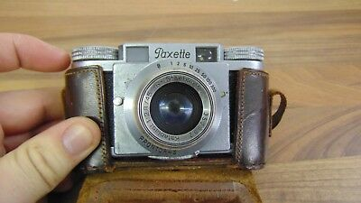 Vintage Braun Paxette Prontor-S camera for spares, repair, display.