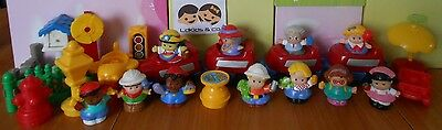Fisher Price Little People Lot Train - Personnages + Accessoires  # 8