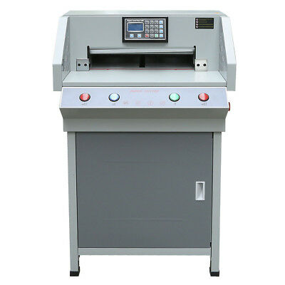"Heavy Duty 490mm(19.3"") Programable Electric Paper Cutter Cutting Machine 4908T"
