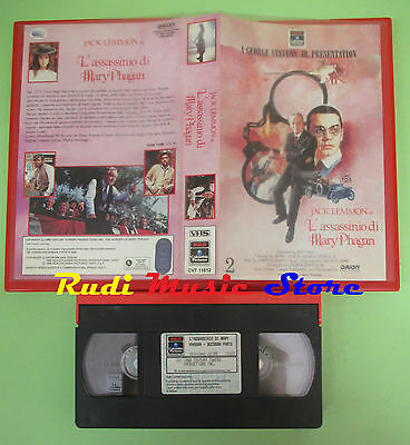 VHS film L'ASSASSINIO DI MARY PHAGAN 2 1988 Jack Lemmon COLUMBIA11612(F28)no dvd
